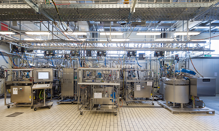 Novartis Continuous Manufacturing Facility in Basel Upstream Processing - ISPE Pharmaceutical Engineering