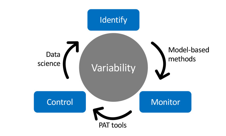 Figure 4: Tackling process variability through identification, monitoring, and control