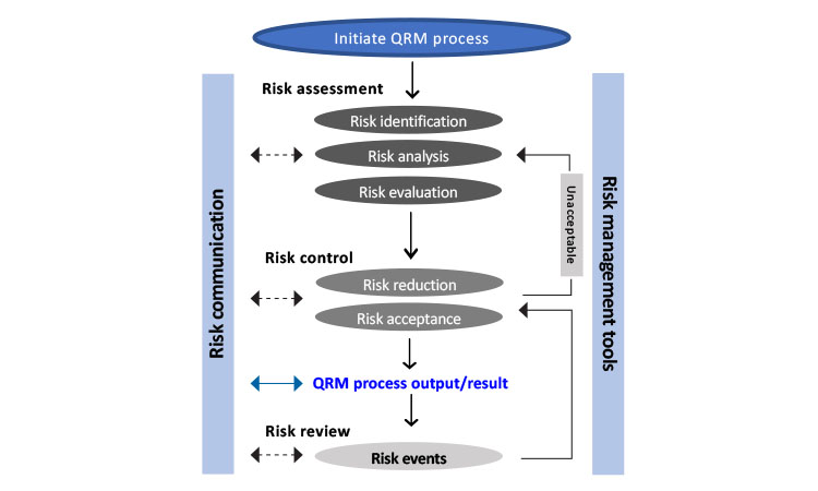 General quality risk management process
