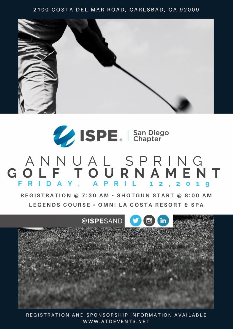 ISPE SD Golf Graphic