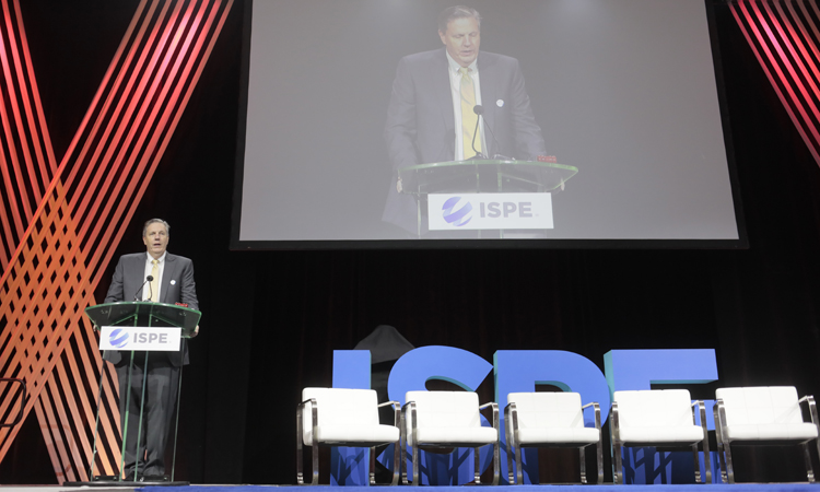 Jim Breen, Outgoing Chair, ISPE International Board of Directors