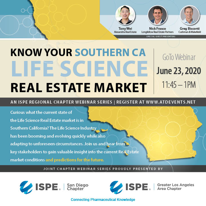 ISPE SD - LA 6-23-20 Webinar Graphic