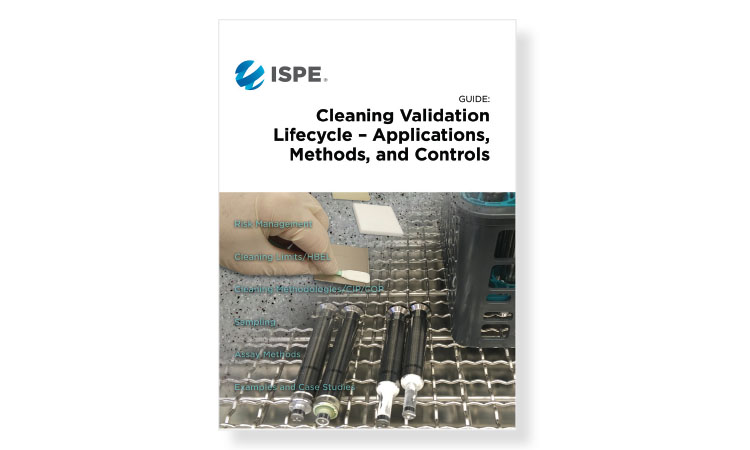 New ISPE Guide on Cleaning Validation Lifecycle
