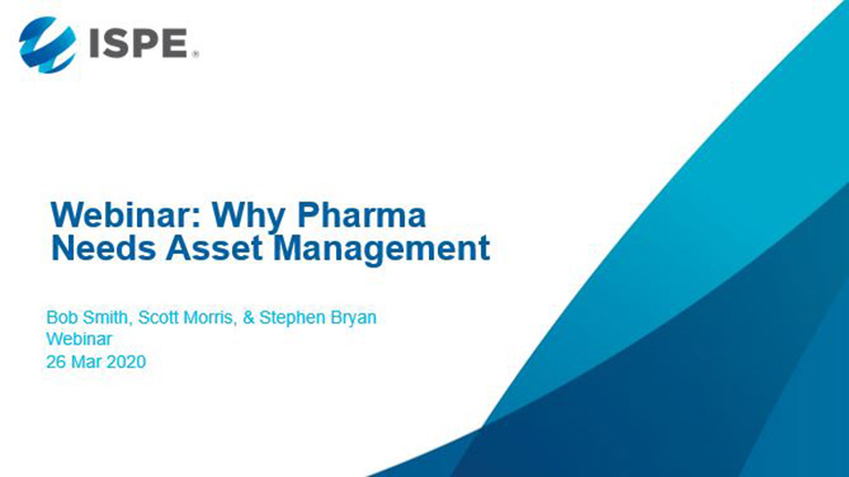 Why Pharma Needs Asset Management