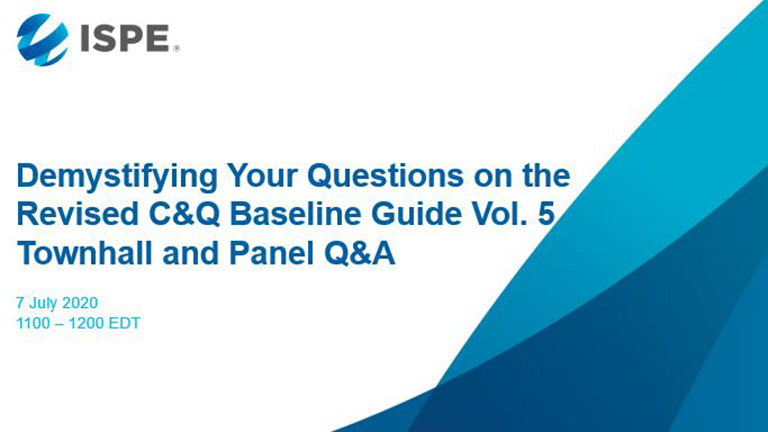 C&Q Baseline Guide Vol. 5 Panel and Q&A