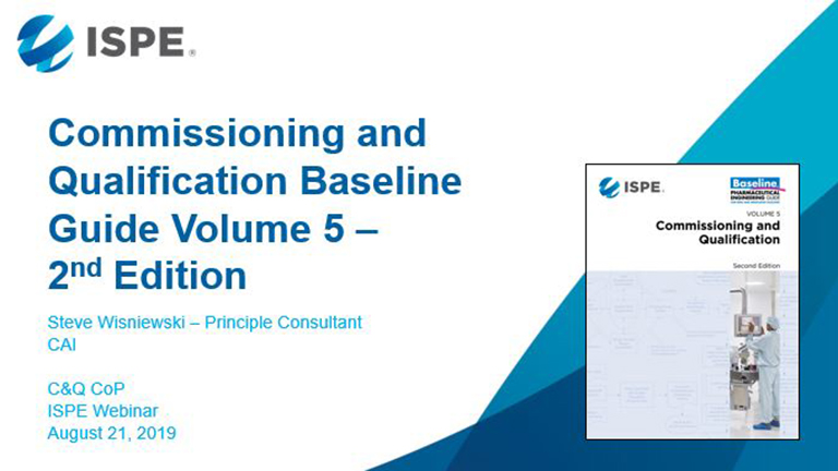 Polishing an Old Gem: Commissioning & Qualification Baseline Guide Update