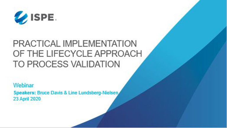 Practical Implementation of the Lifecycle Approach to Process Validation