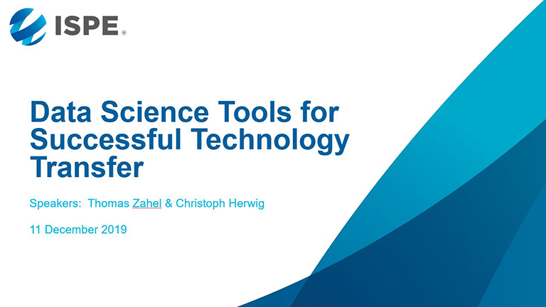 Data Science Tools for Successful Technology Transfer