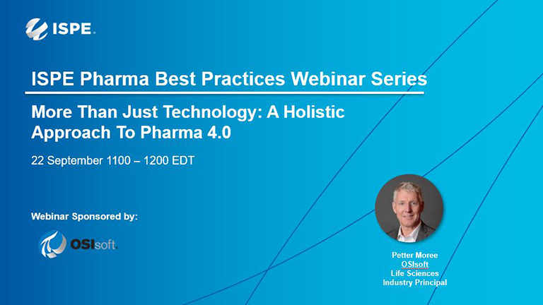 More Than Just Technology: A Holistic Approach To Pharma 4.0