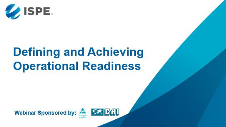 Defining and Achieving Operational Readiness