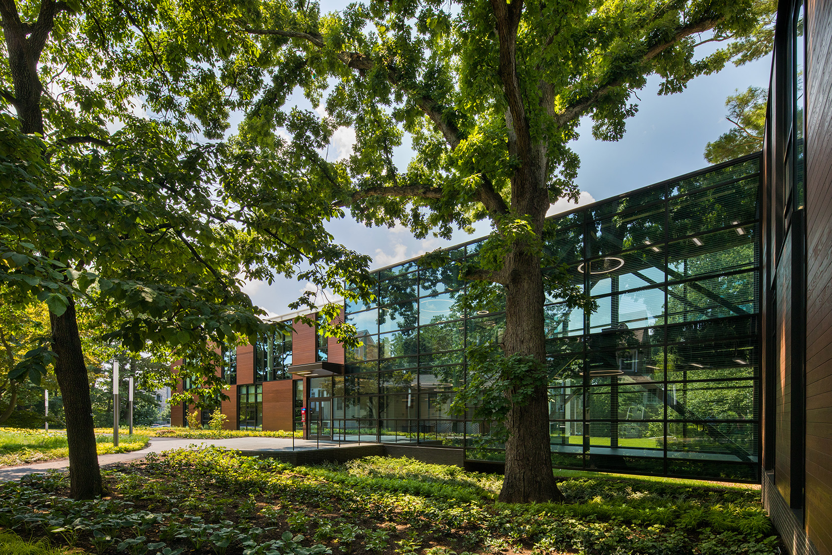 JacobsWyper Architect's new academic building for Swarthmore College