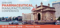 2018 ISPE Pharmaceutical Manufacturing Conference in India
