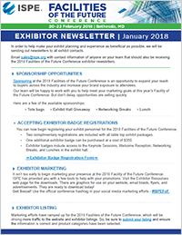 Exhibitor Newsletter January Image