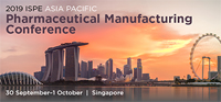 2019 ISPE Asia Pacific Pharmaceutical Manufacturing Conference