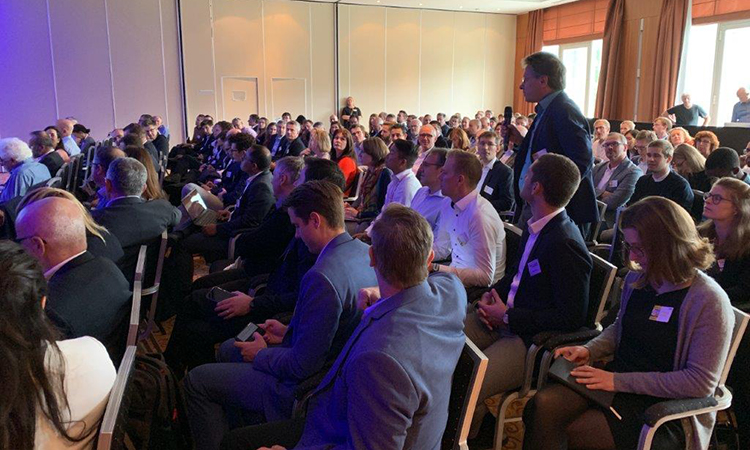Europe Biotechnology Conference - Attendee asking question