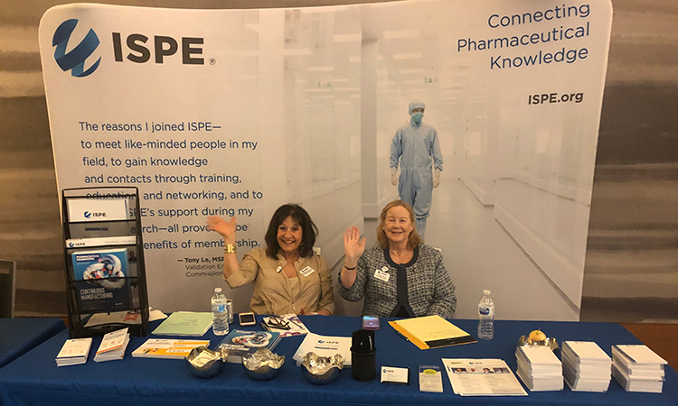 2019 ISPE Biopharmaceutical Manufacturing Conference ISPE reps