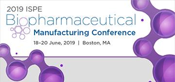 2019 ISPE Biopharmaceutical Manufacturing Conference