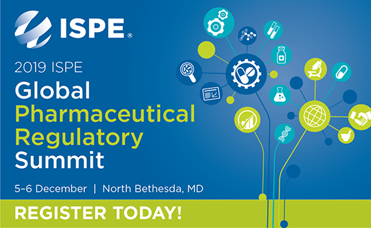 2019 ISPE Global Pharmaceutical Regulatory Summit