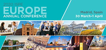 2020 ISPE Europe Annual Conference Creative