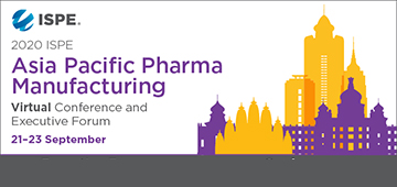 2020 ISPE Asia Pacific Pharmaceutical Manufacturing Virtual Conference & Executive Forum