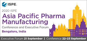 2020 ISPE Asia Pacific Pharmaceutical Manufacturing Executive Forum & Conference