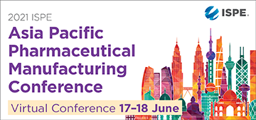 2021 ISPE Asia Pacific Pharmaceutical Mfg Conference