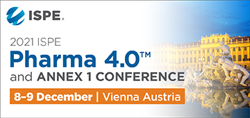 2021 ISPE Pharma 4.0™ and Annex 1 Conference