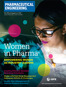 Pharmaceutical Engineering January / February 2021 Cover
