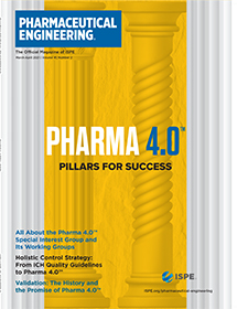 Pharmaceutical Engineering March / April 2021 Cover