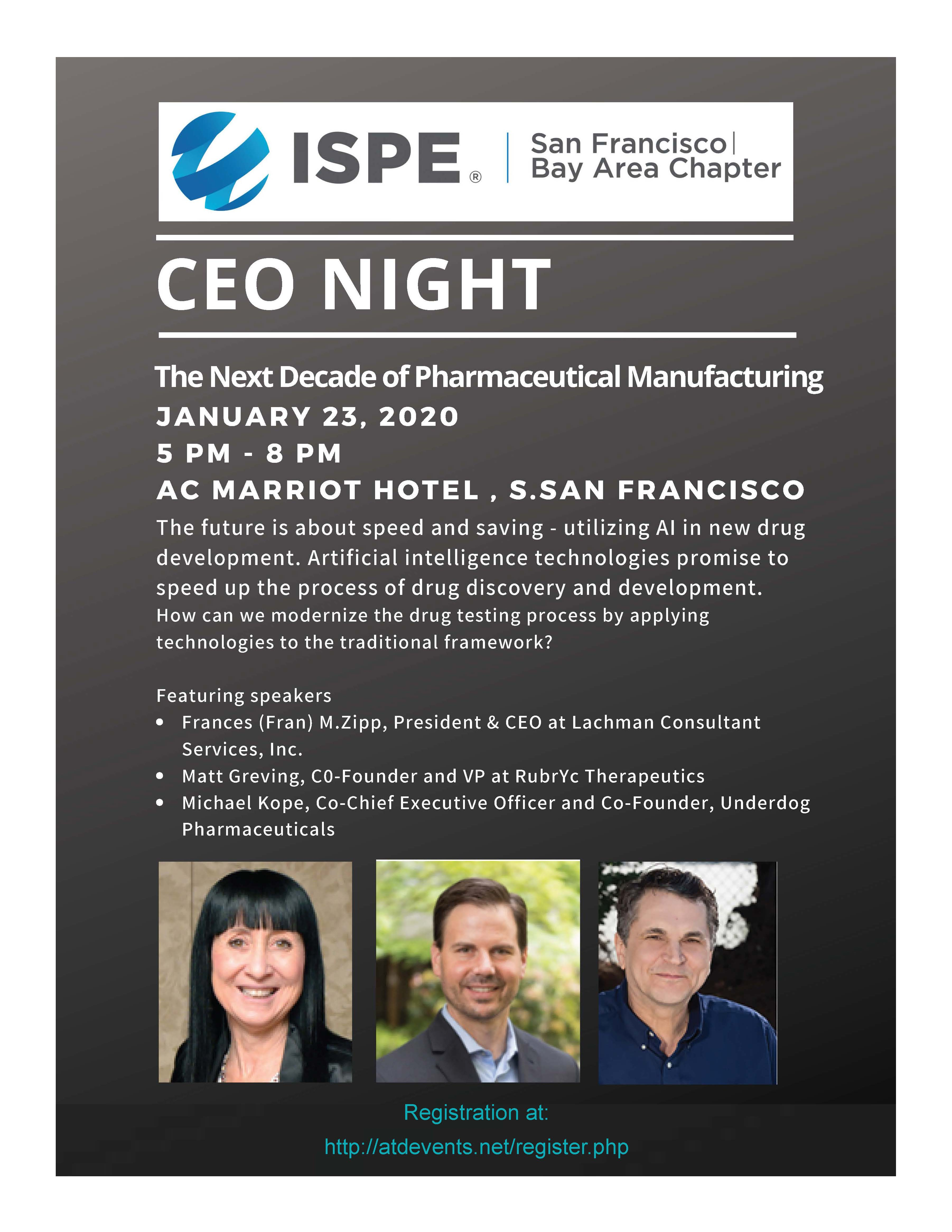 ISPE SF CEO Night Graphic