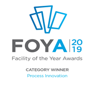 2019 Category Winner for Process Innovation