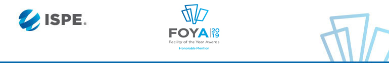 Takeda - 2019 Facility of the Year Award Honorable Mention Winner