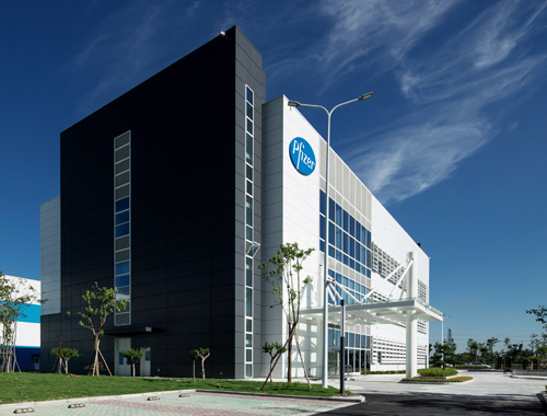 Pfizer Inc. Facility Integration winner