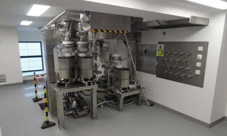 Jenssen-Feeding Blending platform downstream process (Direct Compression)