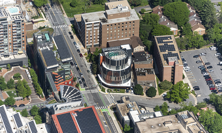 United Therapeutics - Exterior City Contect Aerial