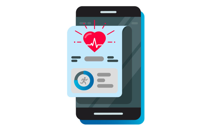 health app graphic