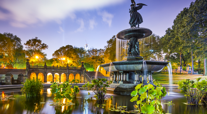 Bethesda Terrace & Fountain - ISPE Pharmaceutical Engineering