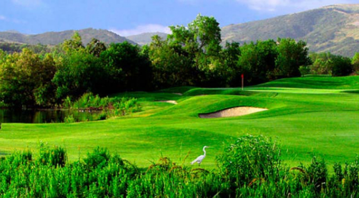 Golf Tournament at Strawberry Farms Golf Club in Irvine
