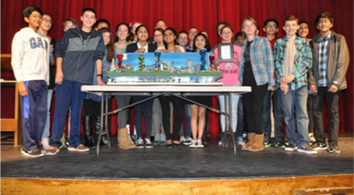 Future City Competition participants