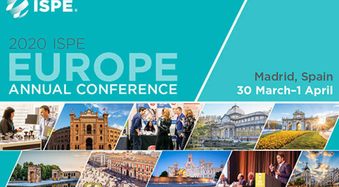 2020 ISPE Europe Annual Conference banner