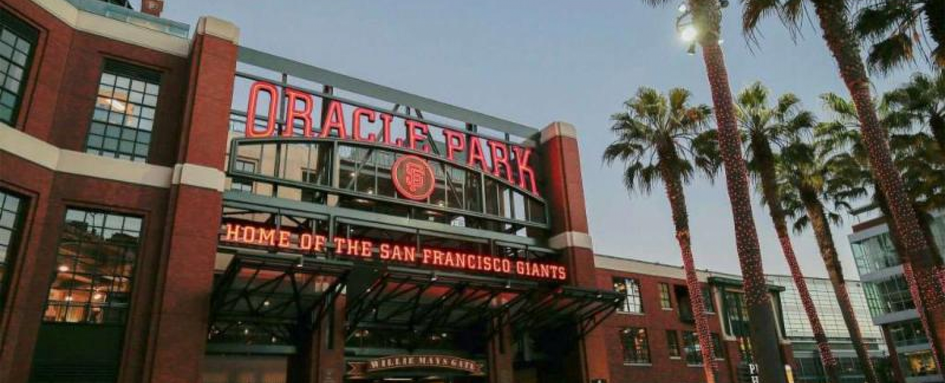 Oracle Park Entrance