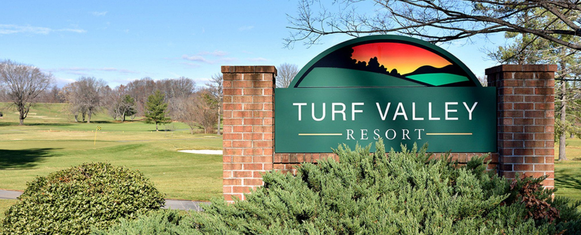 Turf Valley Sign