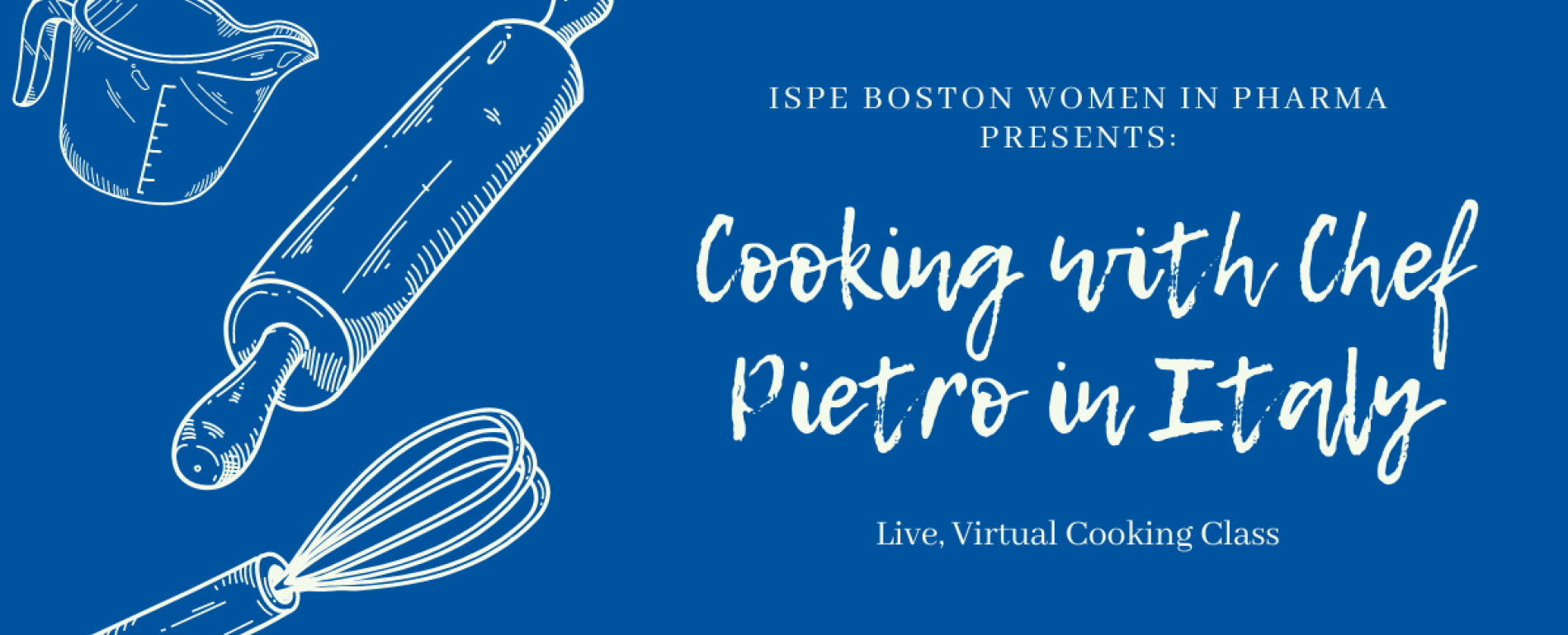ISPE Women in Pharma Cooking with Chef Pietro in Italy