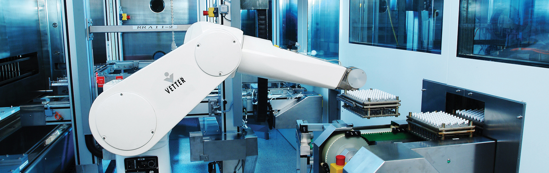 Aseptic  processing robotics banner - ISPE Pharmaceutical Engineering