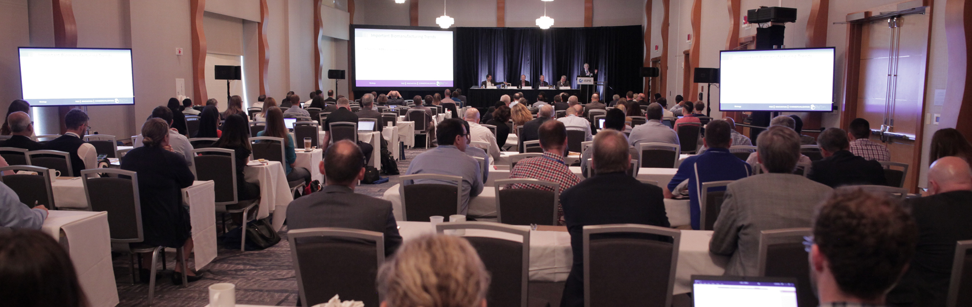 2019 ISPE Biopharmaceutical Manufacturing Conference Plenary Session - ISPE Pharmaceutical Engineering
