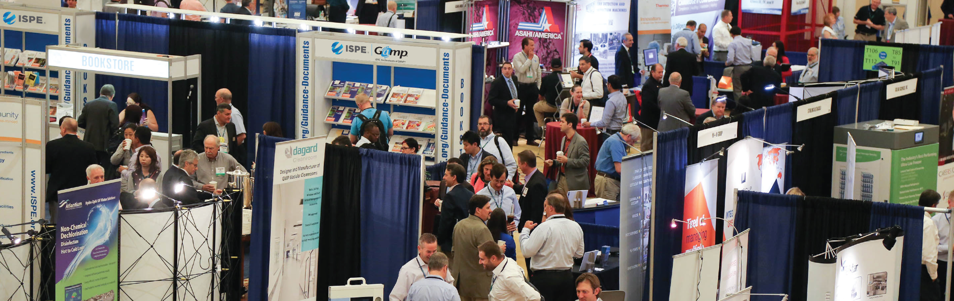 Exhibit and Sponsorship Opportunities at ISPE Conferences & Events