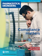 Pharmaceutical Engineering March / April 2016 Issue Cover