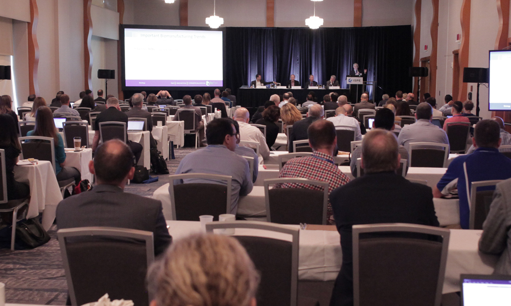 2019 ISPE Biopharmaceutical Manufacturing Conference Plenary Session