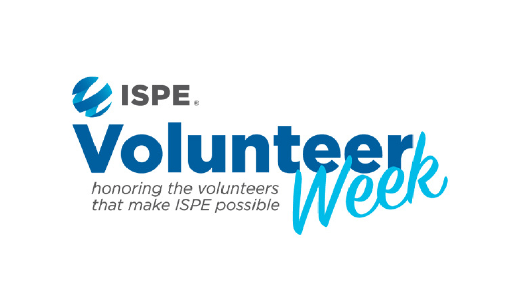 ISPE Volunteer week