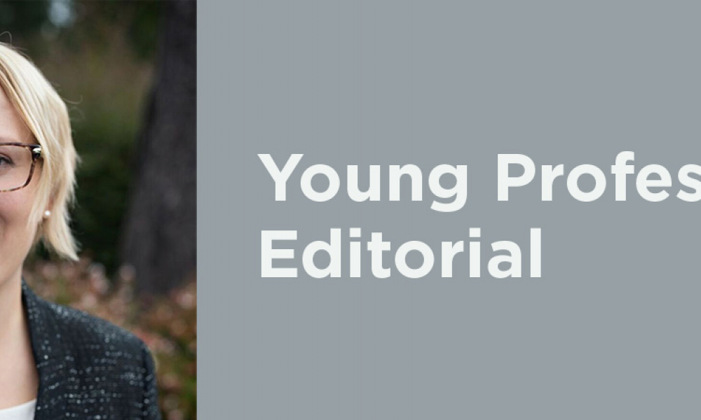 Young Professional Editorial: Career Development - Goes On